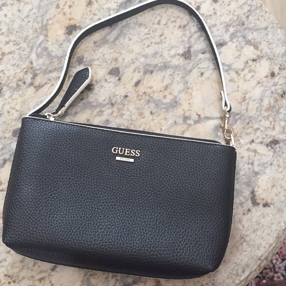 Guess Handbags - Guess Small Purse Black and White NWOT da888caddc274